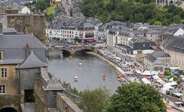 Взгляд на бульоне города Бельгии Стоковое Изображение RF
