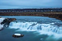 Взгляд над водопадом faxi Стоковое Изображение
