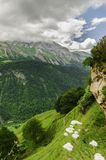Взгляд на горах в Испании Стоковое фото RF