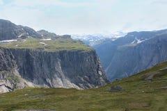 Взгляд на горах стоковое фото