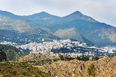 Взгляд на городе Artvin индюк стоковая фотография