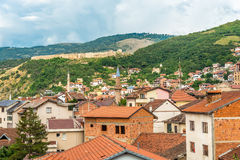 Взгляд на городе Prizren в Косове Стоковое Фото