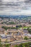 Взгляд на городке ванны Стоковое Изображение
