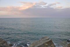 Взгляд на голубом море Стоковое Изображение RF