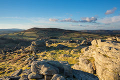 Hayne вниз Dartmoor Стоковые Изображения