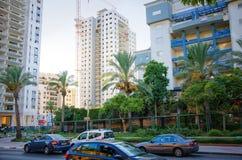 Взгляд на жилом доме 19 этажей под конструкцией Стоковые Фотографии RF