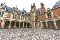 Взгляд на замке Blois стоковое фото rf