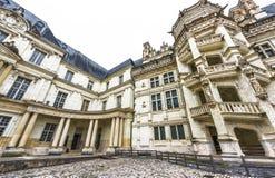 Взгляд на замке Blois стоковые изображения rf