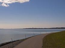 Взгляд на западе-Terschelling Стоковые Изображения RF