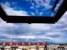 Взгляд на заливе Гданьска Стоковая Фотография RF