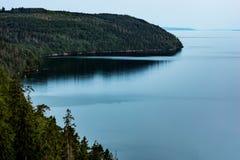 Взгляд над заливом Стоковая Фотография RF