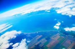 Взгляд над землей Стоковое Изображение RF