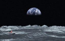 Взгляд на земле Стоковая Фотография