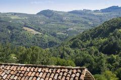 Итальянский ландшафт стоковое фото
