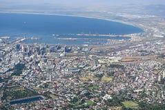 Взгляд над Кейптауном Стоковое Изображение RF