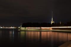 Взгляд на крепости Питера и Пола Стоковая Фотография RF