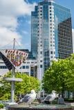 Взгляд на месте Канады в Ванкувере городском. Стоковые Фотографии RF