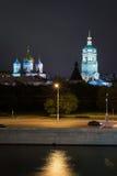 Взгляд на монастыре Novospassky в Москве Стоковая Фотография RF