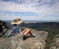 Взгляд над национальным парком Стоковая Фотография RF