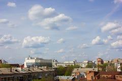 Взгляд на небе облака Стоковое фото RF