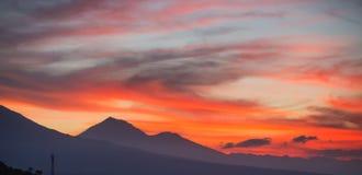Взгляд на небе облака Стоковая Фотография RF