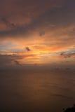 Взгляд на небе облака Стоковая Фотография