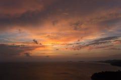 Взгляд на небе облака Стоковое Фото
