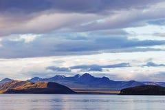 Взгляд над озером Стоковое Изображение
