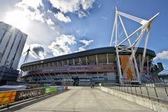 Стадион тысячелетия - Кардифф стоковые изображения