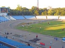Взгляд на стадионе Стоковая Фотография RF