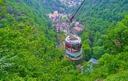 Взгляд на ущелье Borjomi Стоковая Фотография RF