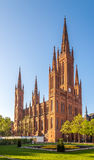 Взгляд на церков Markt в Висбадене - Германии Стоковое Фото