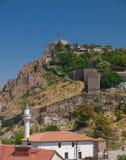 Взгляд на цитадели Анкары Стоковые Фото
