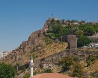 Взгляд на цитадели Анкары Стоковая Фотография