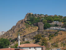 Взгляд на цитадели Анкары Стоковое Изображение RF