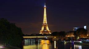 Взгляд на Эйфелева башне, Париж, Франция стоковая фотография