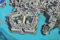 Озеро Burj Khalifa Стоковая Фотография
