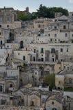 Взгляд на Matera Стоковое Фото