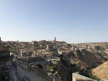 Взгляд на Matera Стоковые Изображения RF