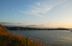 Взгляд на Saint-Jean-de Luz и Ciboure Стоковое фото RF