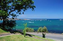 Взгляд на Saint-Jean-de Luz и Ciboure Стоковые Изображения