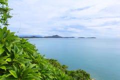 Взгляд на samui моря и неба Стоковые Фото