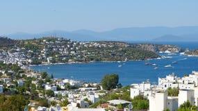 Взгляд над Turkbuku, Турцией Стоковые Изображения