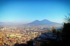 Взгляд Неаполь, Itay Стоковое Изображение