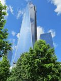 Взгляд нового всемирного торгового центра Стоковое Фото