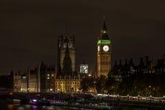 Взгляд ночи большого ben Стоковая Фотография