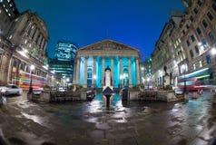 Королевская фондовая биржа, Лондон, Англия, Великобритания Стоковое Изображение RF