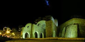 Взгляд ночи города ираклиона Стоковое фото RF