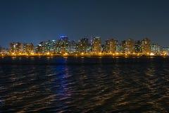 Взгляд ночи Сеула city16 Стоковые Изображения