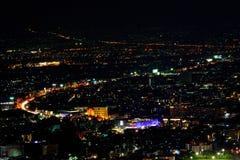 Взгляд ночи Чиангмая Стоковые Изображения RF